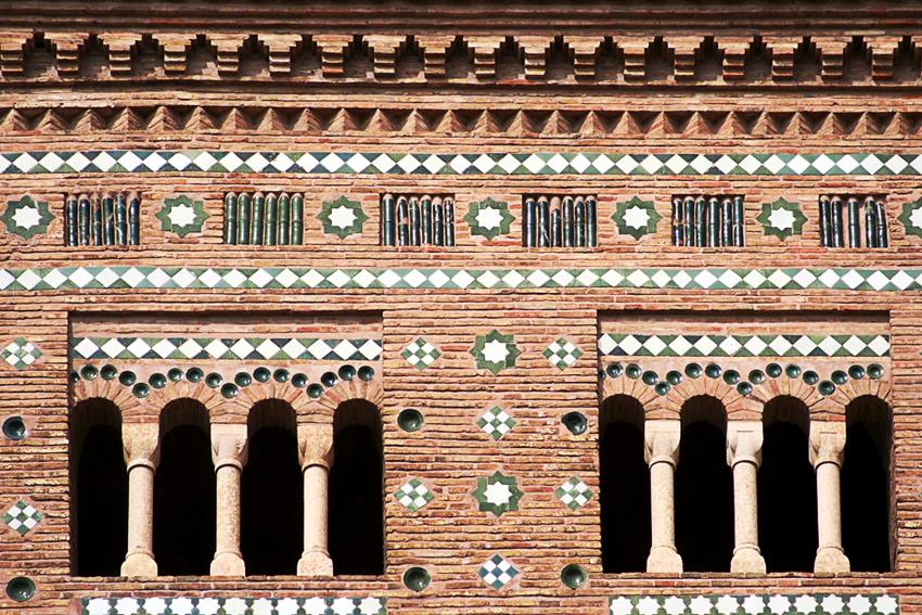 Arte mudejar azulejos melendo fotografia for Arquitectura mudejar